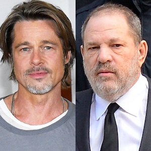 Brad Pitt, Harvey Weinstein