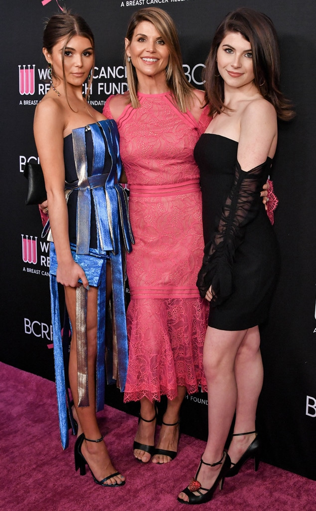Olivia Jade, Lori Loughlin, Bella Giannulli