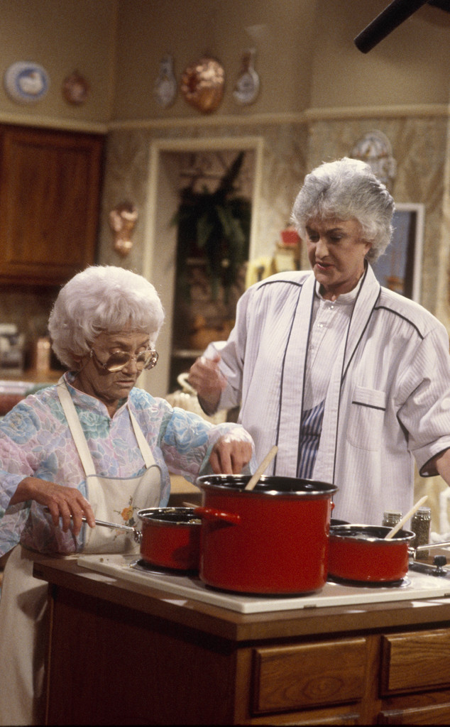 ESTELLE GETTY, BEA ARTHUR, Golden Girls