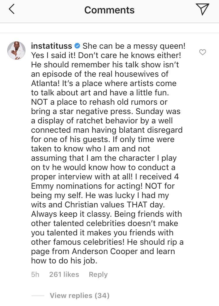 Tituss Burgess, Instagram