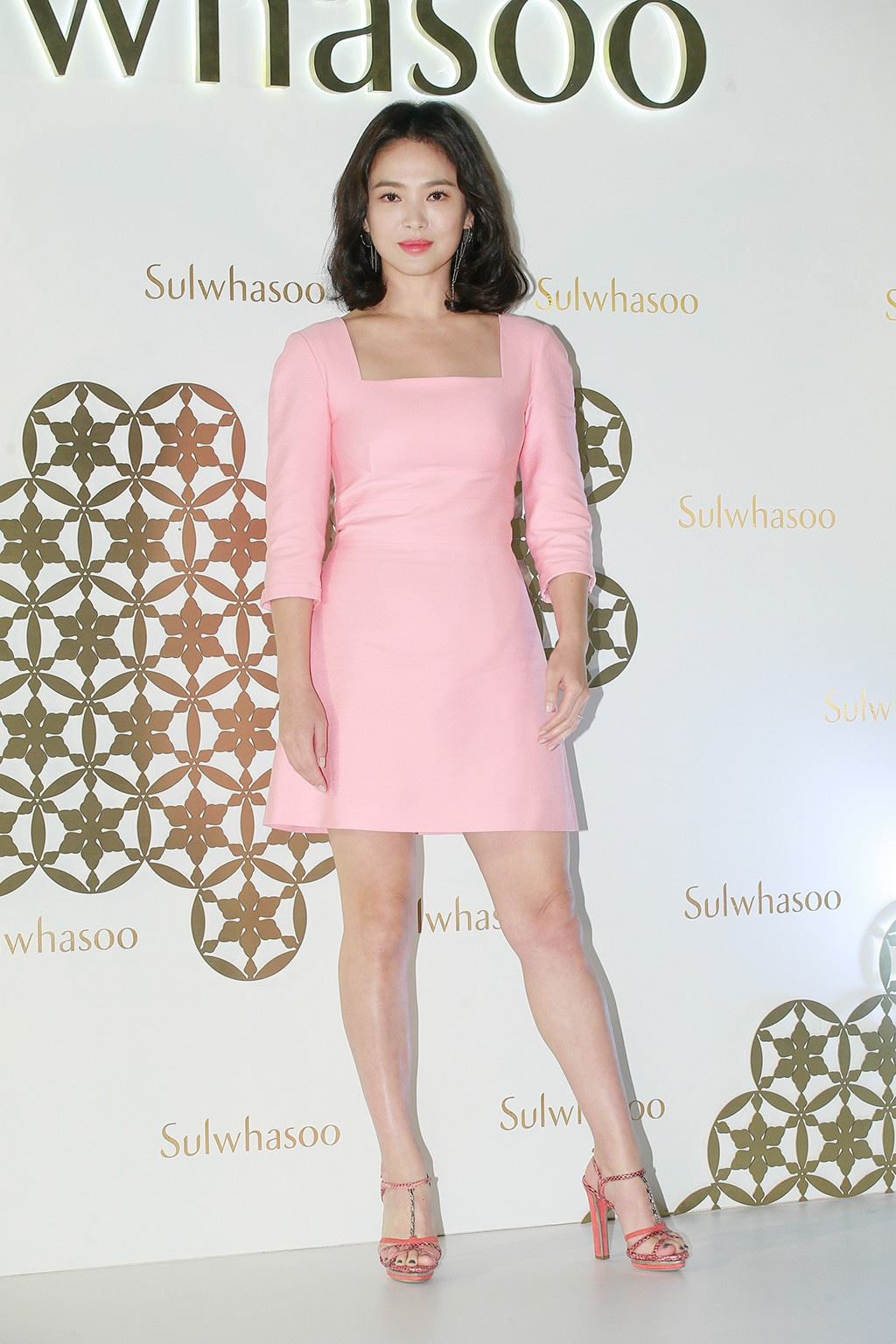 Song Hye-kyo, Sulwhasoo Exhibition Opening Ceremony In Hong Kong