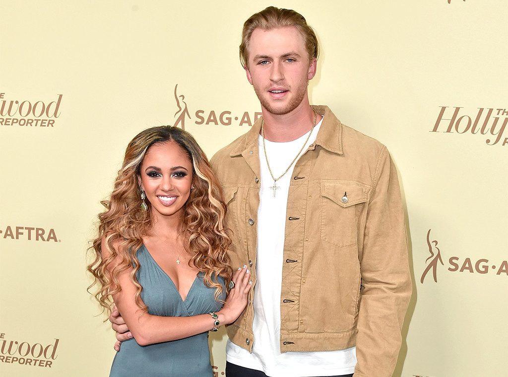 Vanessa Morgan, Michael Kopech, Engaged