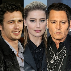james Franco, Johnny Depp, Amber Heard
