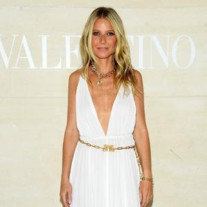 Gwyneth Paltrow, Valentino Haute Couture Show, Paris Fashion Week