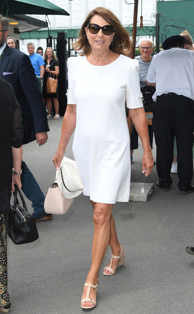 Carole Middleton, Wimbledon Tennis Championships