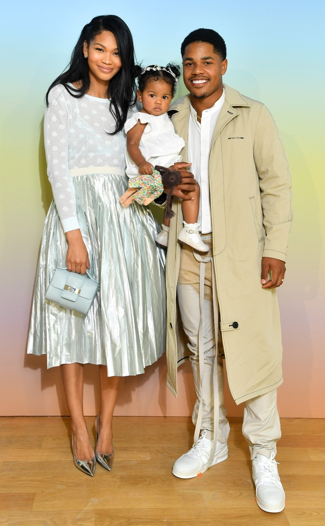 Chanel Iman, Cali Clay Shepard, Sterling Shepard