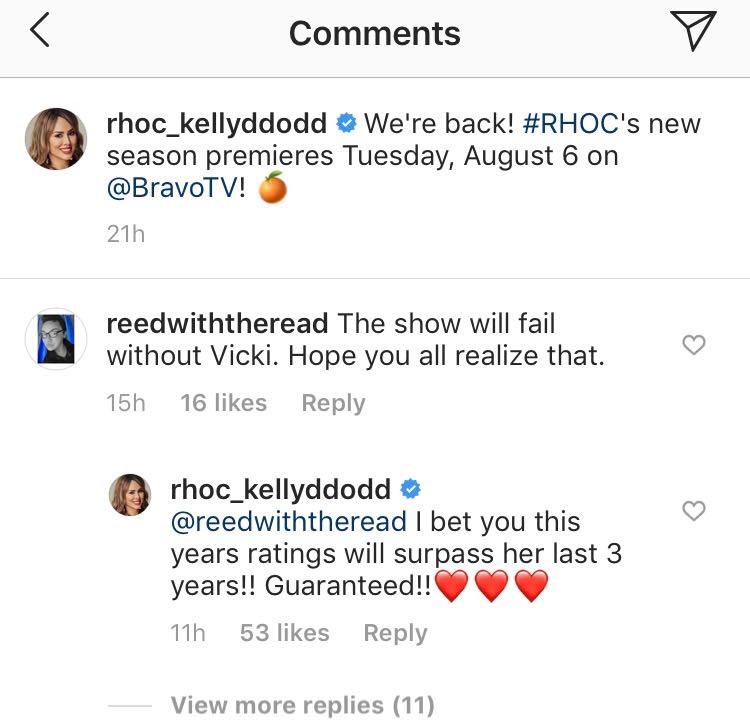 Real Housewives, Instagram, Vicki Gunvalson