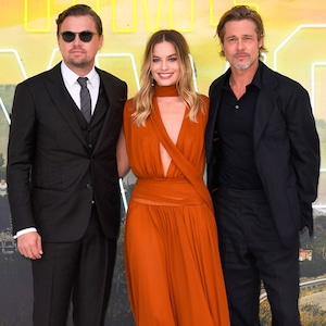 Once Upon a Time in... Hollywood London Premiere, Margot Robbie, Brad Pitt, Leonardo DiCaprio