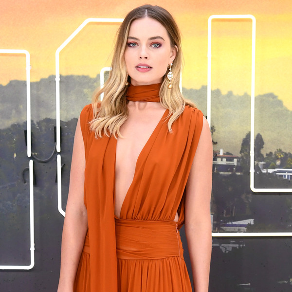 Margot Robbie, Once Upon a Time in Hollywood, UK Premiere
