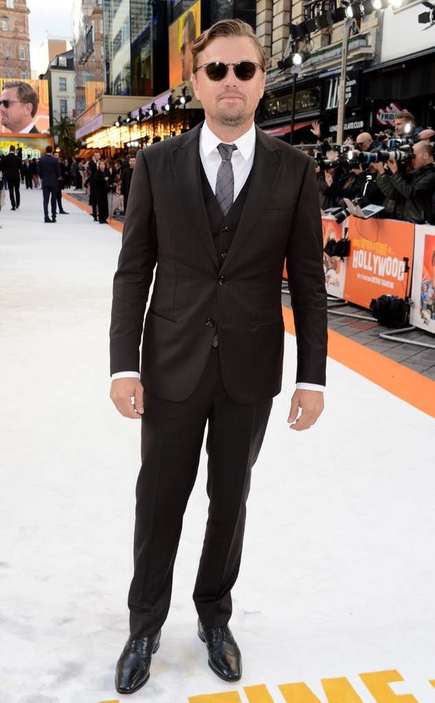 Once Upon a Time in... Hollywood London Premiere, Leonardo DiCaprio '