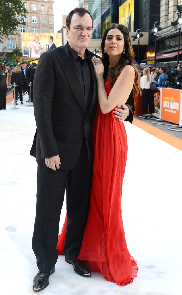 Once Upon a Time in... Hollywood London Premiere, Quentin Tarantino, Daniela Pick