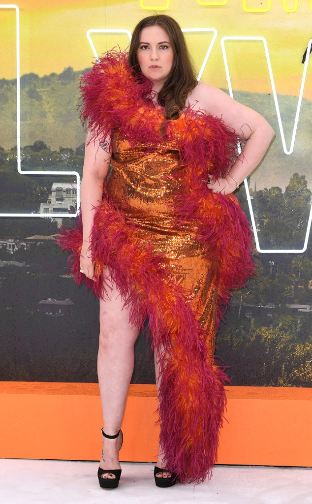 Once Upon a Time in... Hollywood London Premiere, Lena Dunham