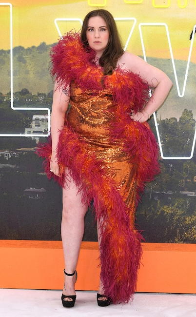 Once Upon a Time in ... Hollywood London Premiere, Lena Dunham