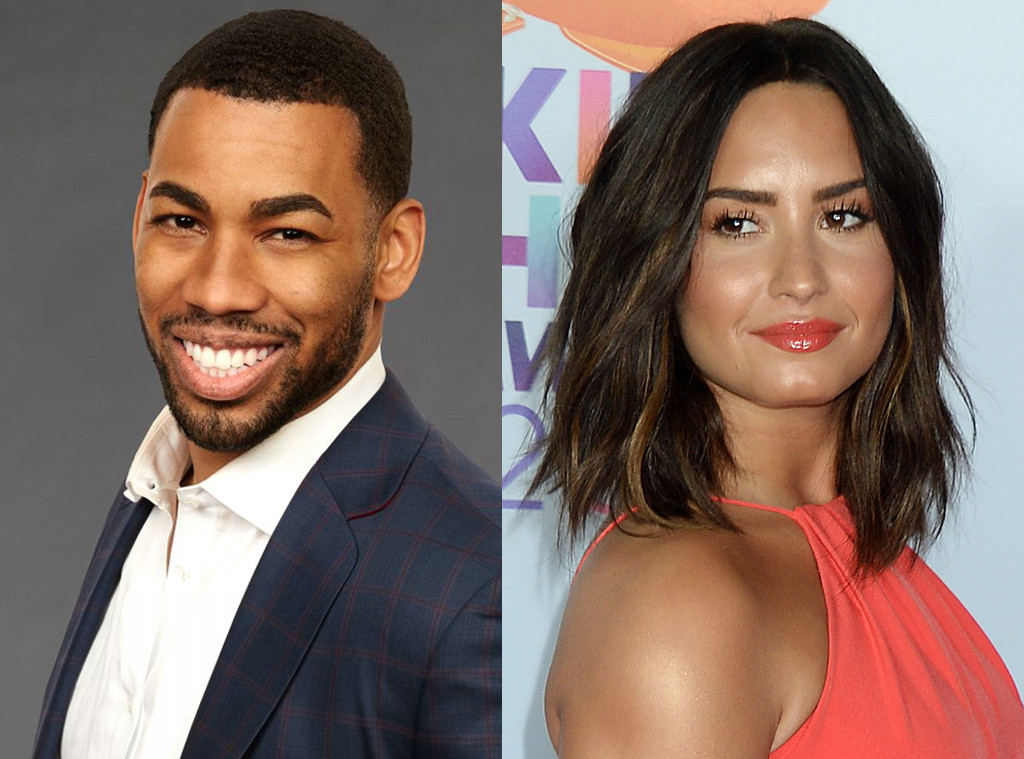 Demi Lovato was a fan of Mike Johnson on Hannah Brown's season of The Bachelorette