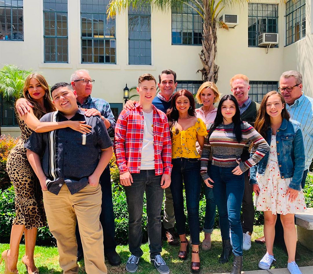 A Modern Family see the modern family cast back at work on the final season