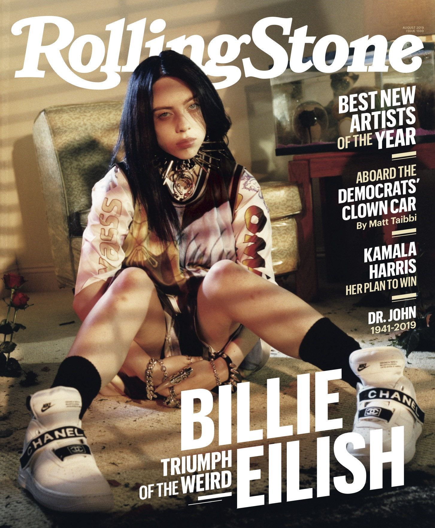 Billie Eilish, Rolling Stone, August 2019