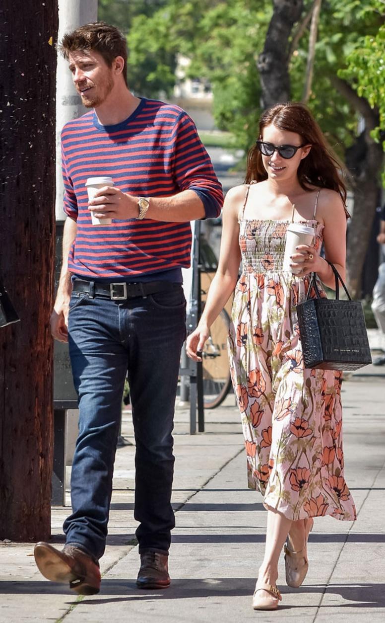 Photos from Emma Roberts & Garrett Hedlund: Romance Rewind ...
