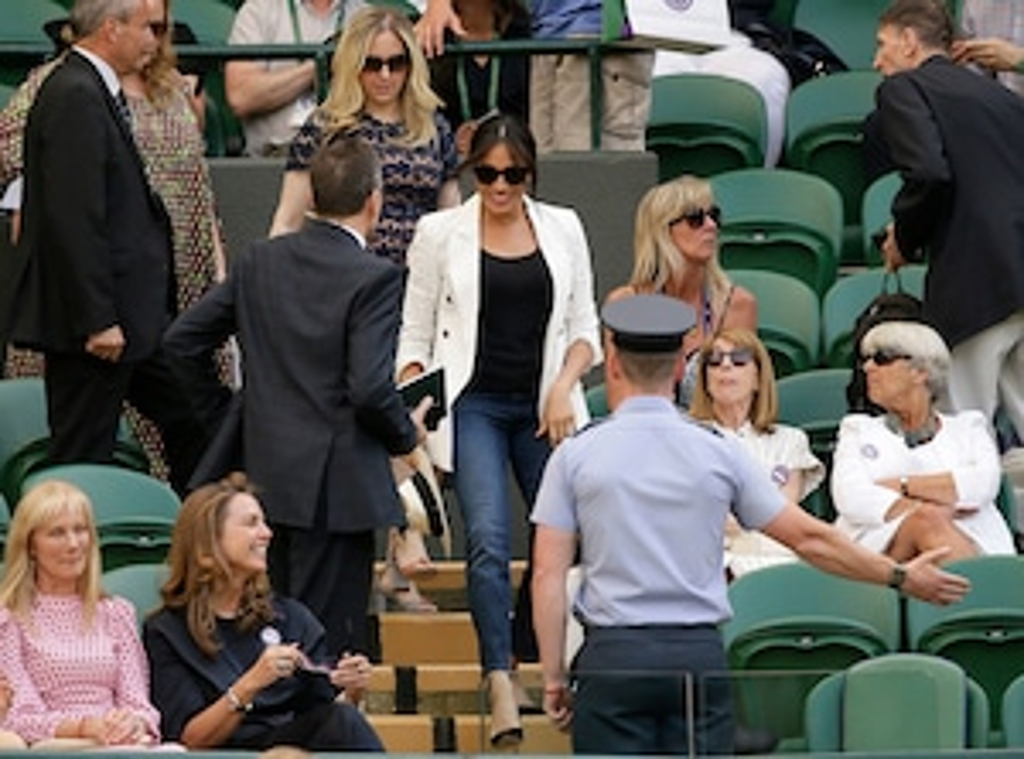 Meghan Markle, 2019 Wimbledon Tennis
