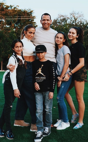 Alex Rodriguez, Jennifer Lopez, Kids, Twins, Max, Emme, Natasha, Ella, Fourth of July 2019