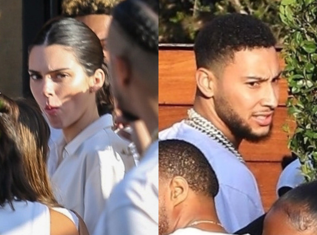 Kendall Jenner, Ben Simmons, Bootsy Bellows 4th of July