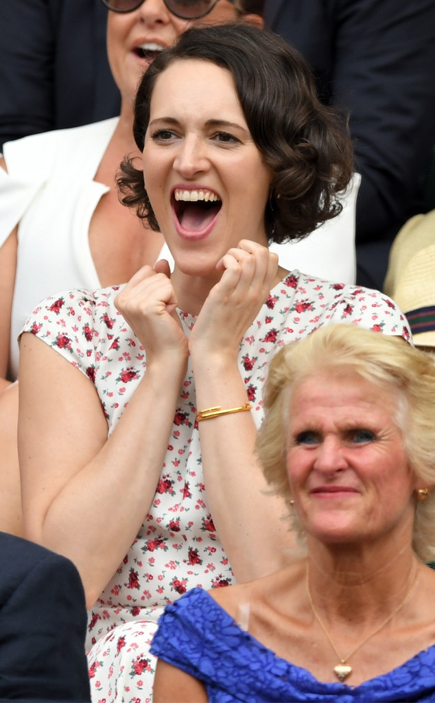 Phoebe Waller-Bridge, Wimbledon Tennis Championships 2019