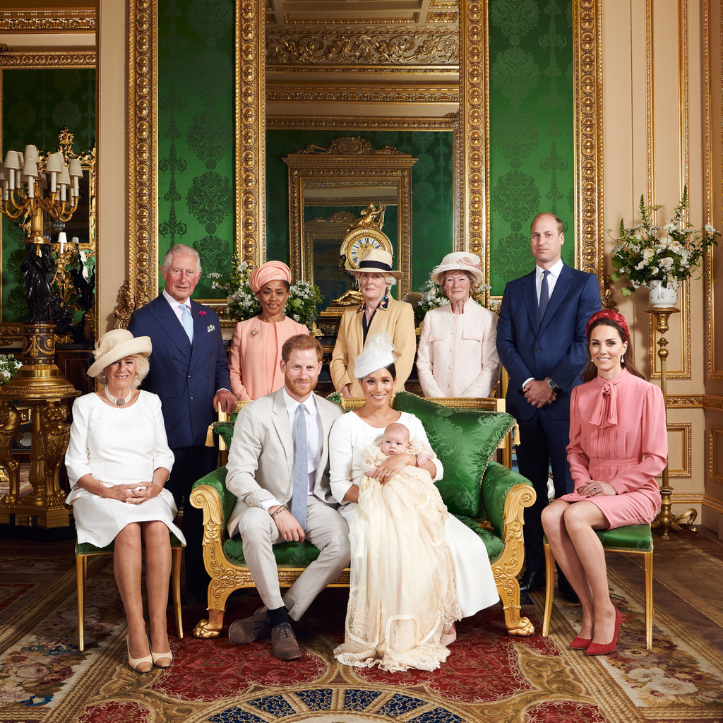 Archie, Royal Christening, Prince Harry, Prince William, Meghan Markle, Kate Middleton