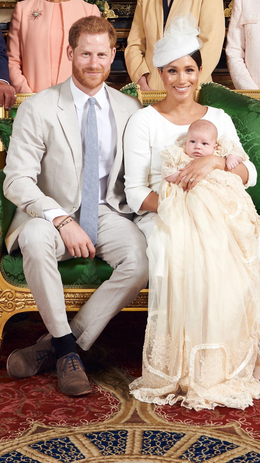 Archie, Royal Christening, Prince Harry, Prince William, Meghan Markle, Kate Middleton