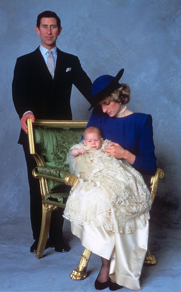 Prince Harry, Prince Charles, Princess Diana