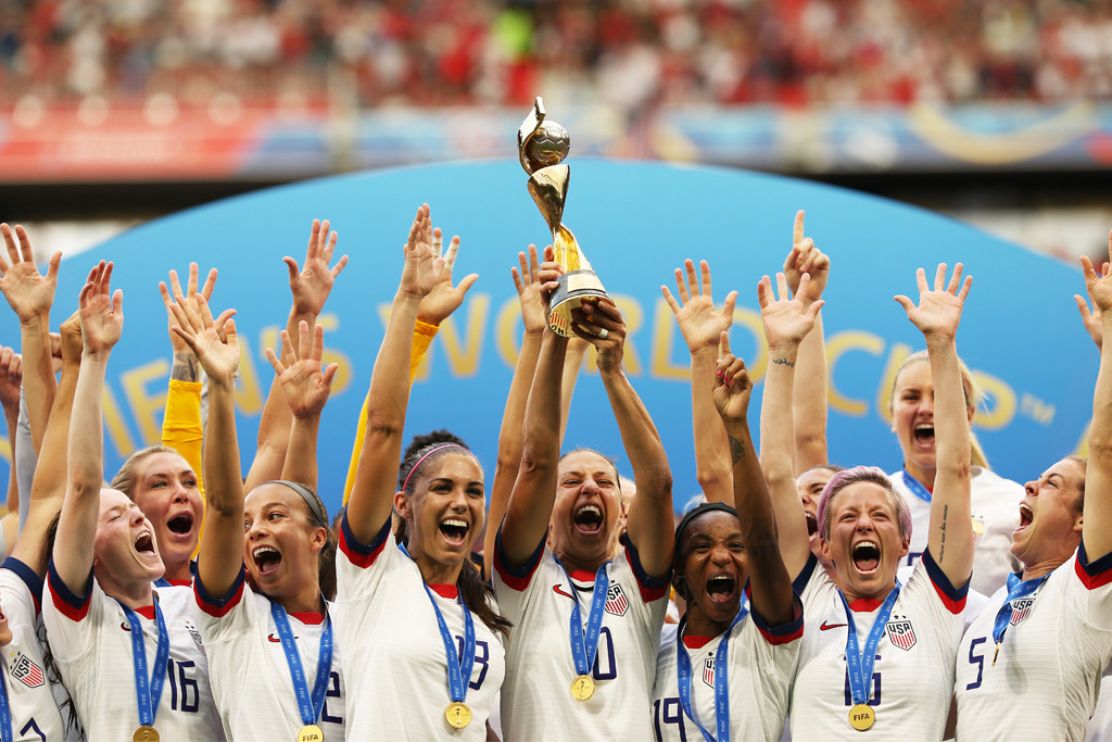 FIFA Women's World Cup Trophy, Team USA