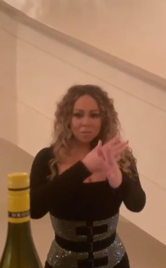 Mariah Carey, Bottle Cap Challenge, Instagram