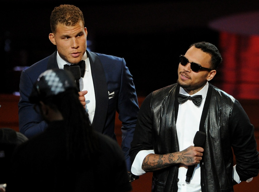 Blake Griffin, Chris Brown, ESPY Awards 2014