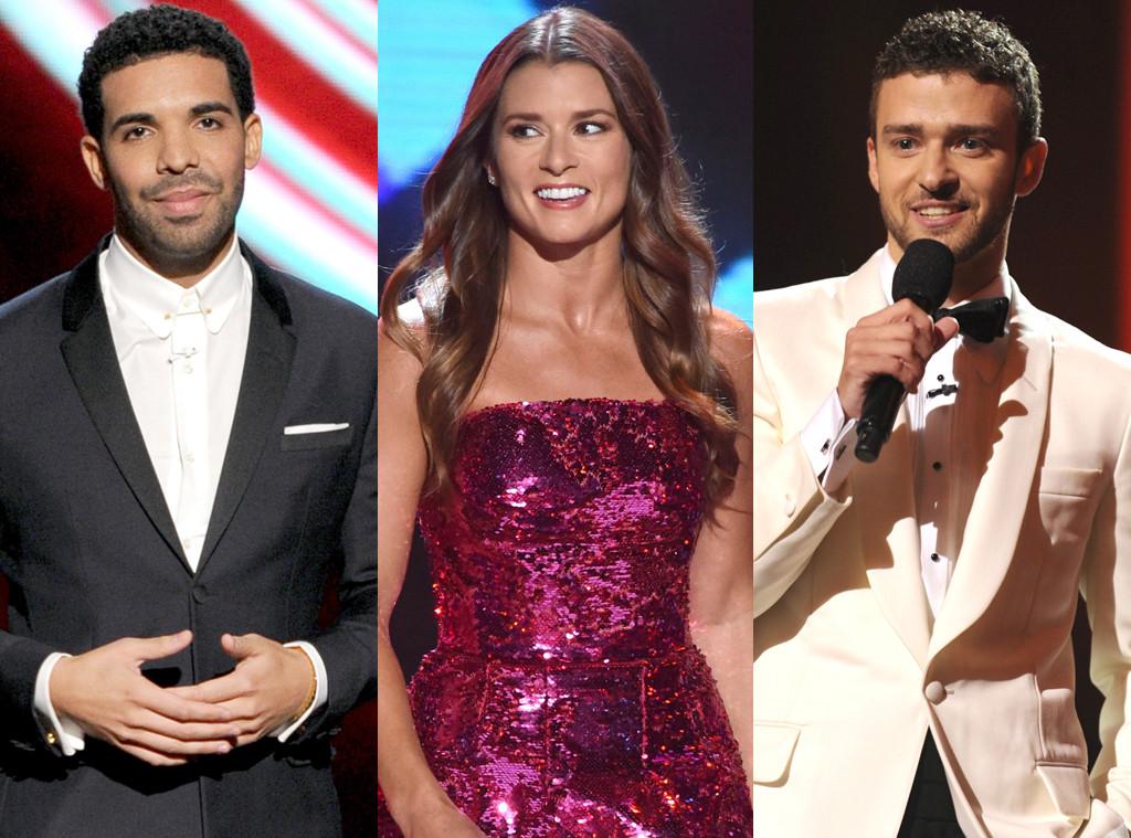 Drake, Danica Patrick, Justin Timberlake, ESPY Awards 2014