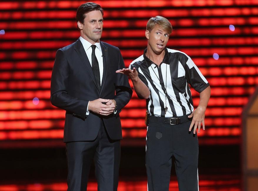 Jon Hamm, Jack McBrayer, ESPY Awards 2013