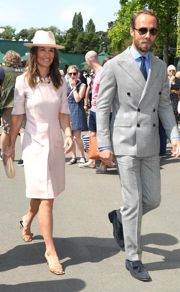 Pippa Middleton, James Middleton, Wimbledon Tennis Championships 2019