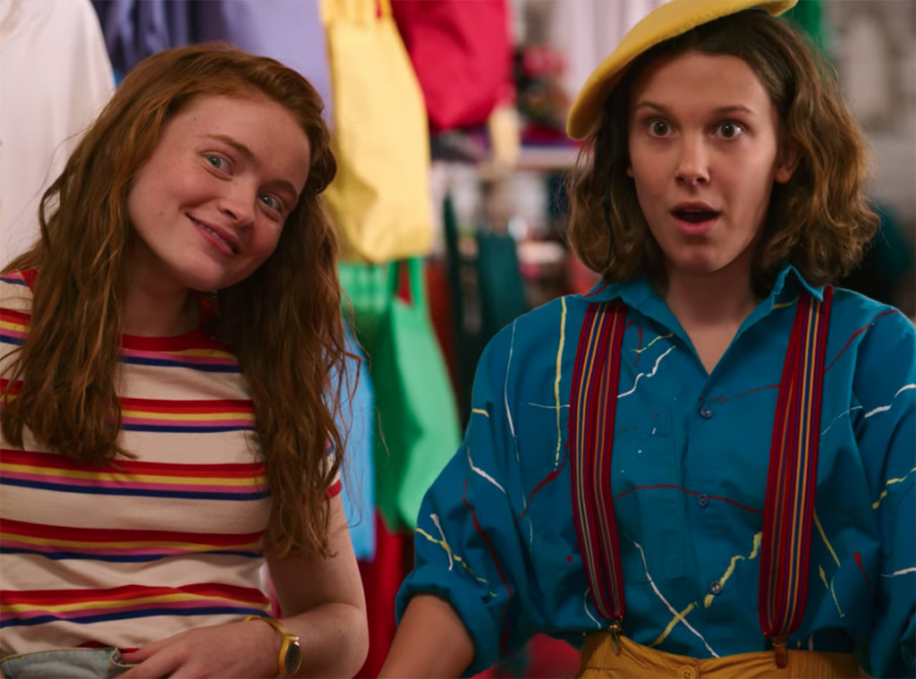 Everything You Need To Know About Stranger Things 3 S Colorful Costumes E Online