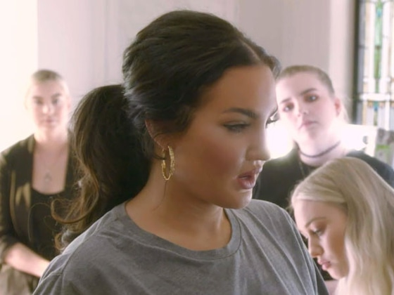 "See Natalie Halcro & Olivia Pierson ""Flourish"" as They Put the Final Touches on Their Fashion Show"