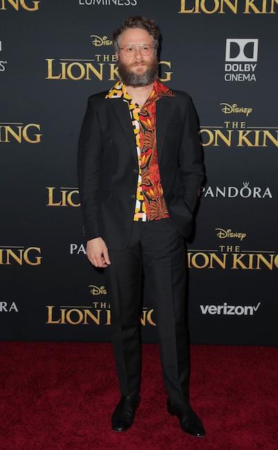 Seth Rogen, The Lion King Premiere, Red Carpet Fashion