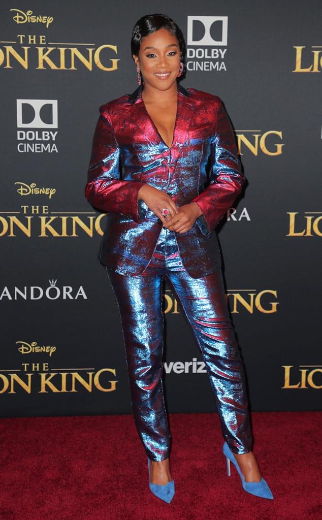 Tiffany Haddish, The Lion King Premiere, Red Carpet Fashion