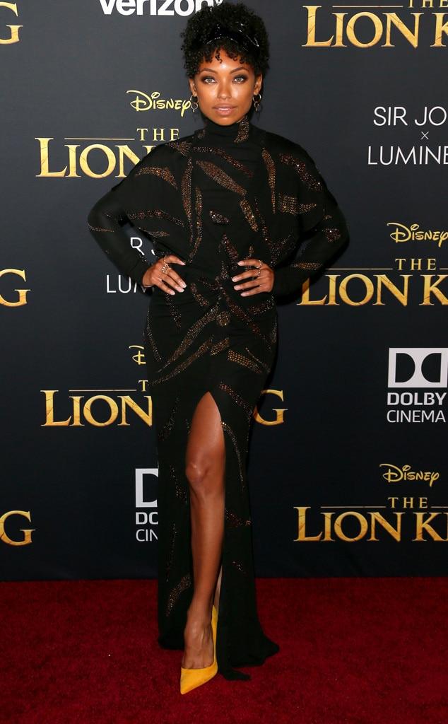 Image result for lion king premiere Logan Browning