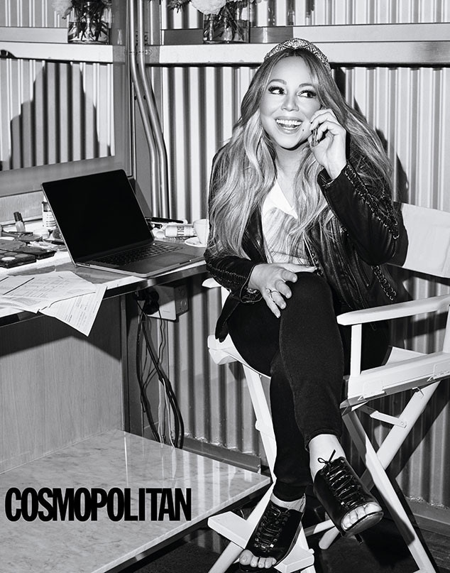 Mariah Carey, Cosmopolitan, August 2019