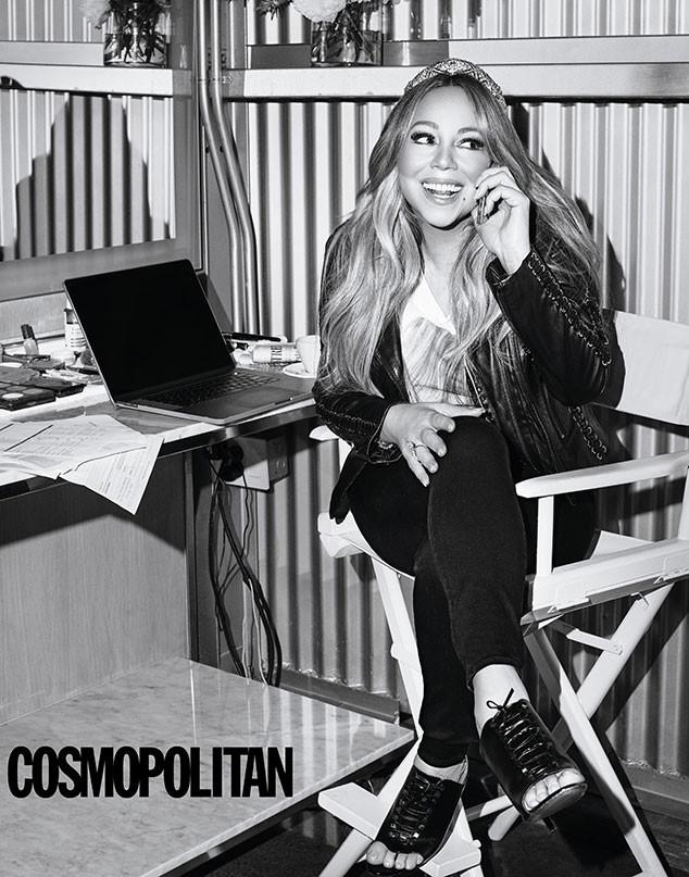 Mariah Carey, Cosmopolitan, August 2019