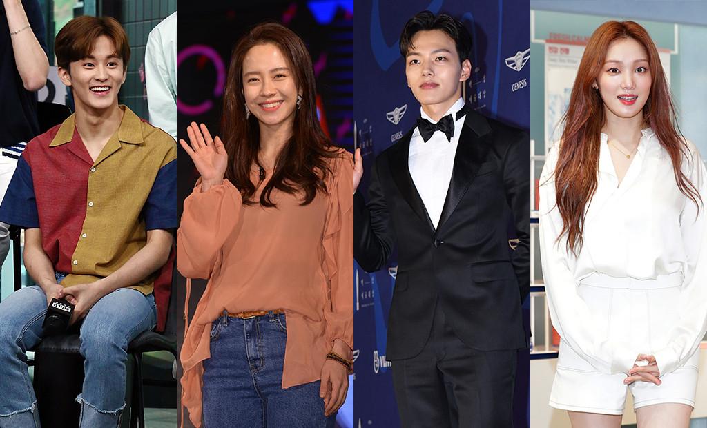 Leo Korean Celebrities, Mark, Song Ji-Hyo, Lee Sung-Kyung, Yeo Jin-Goo
