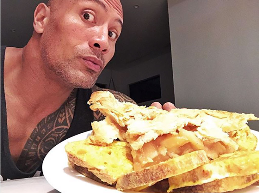Dwayne The Rock Johnson, Cheat Meal