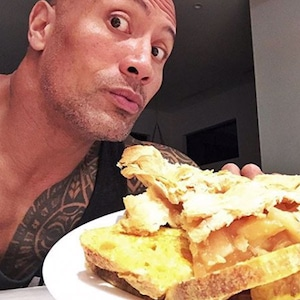 Dwayne The Rock Johnson, Cheat Meal