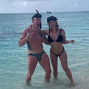 Kim Zociak-Biermann, Kroy Biermann, Vacation, Beach, Turks and Caicos Islands
