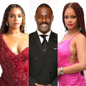 Beyonce, Idris Elba, Rihanna