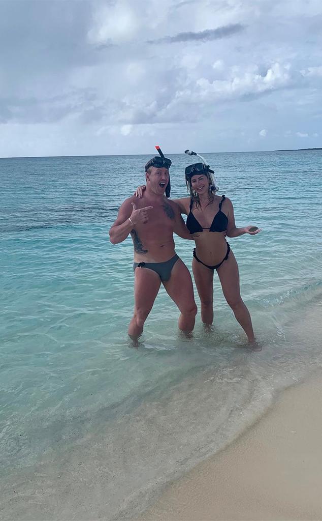 Kim Zociak-Biermann, Kroy Biermann, Vacation, Beach, Turks and Caicos Islands