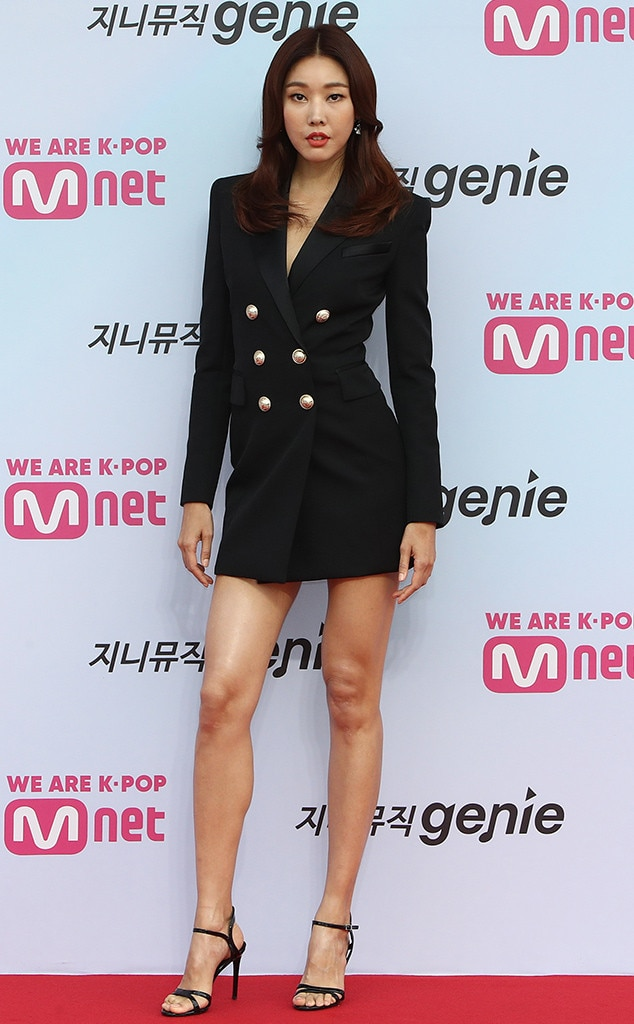 Han Hye-Jin from All The Red Carpet Looks From The 2019 M2 X