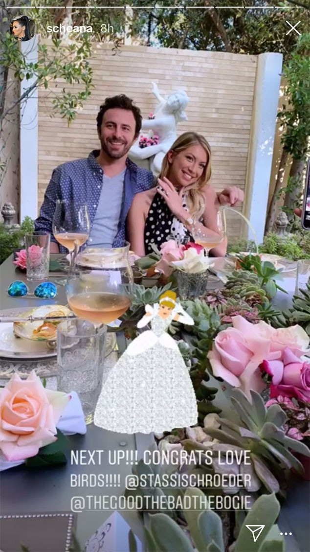 Stassi Schroeder, Engagement Party