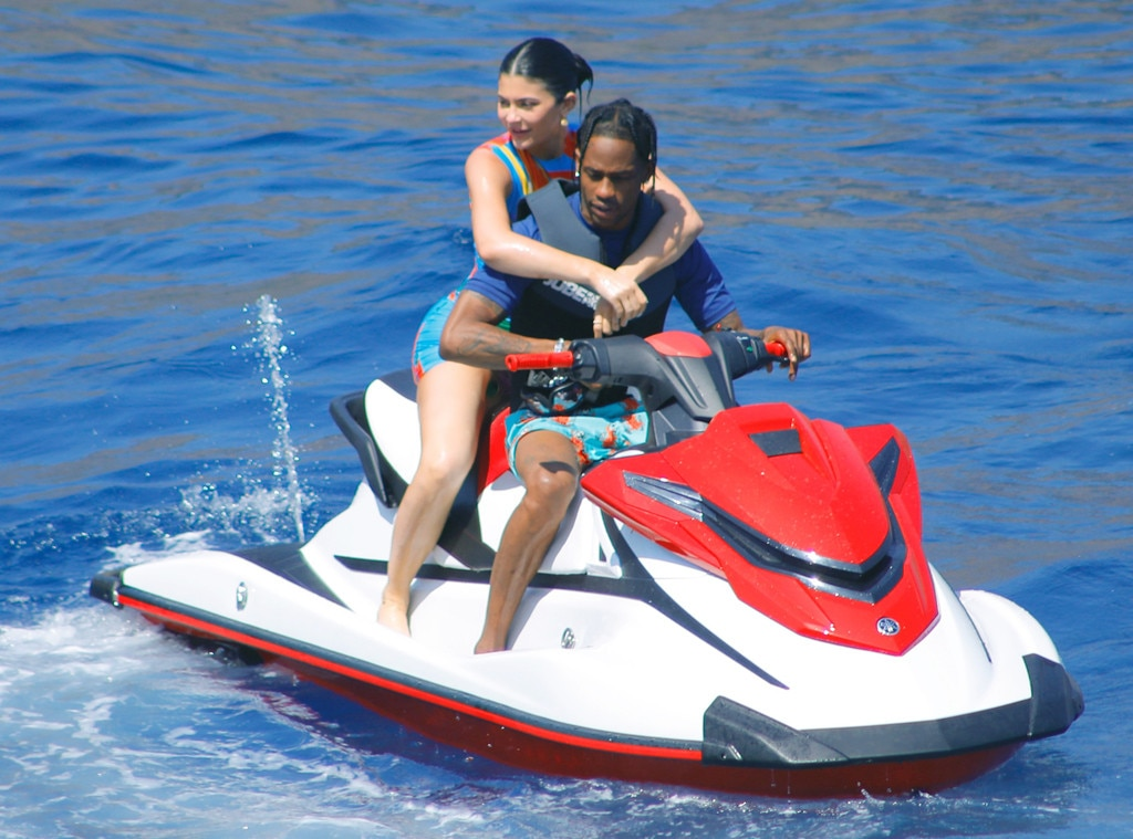 Kylie Jenner, Travis Scott, 22nd Birthday